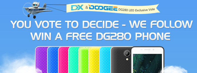 Ten Free DG280 Phone Give Away by DealExtreme