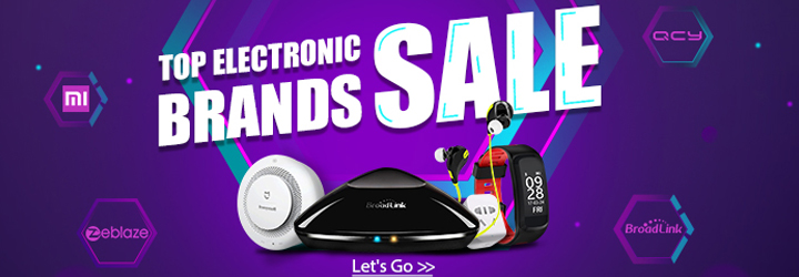 Extra 5% off for consumer electronics