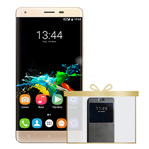 OUKITEL K6000 PRO 5.5' OGS FHD Android 6.0 MTK6753 4G LTE Phone - Gold