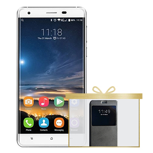 OUKITEL K6000 PRO 5.5' FHD Android 6.0 MTK6753 4G LTE Phone - Silver